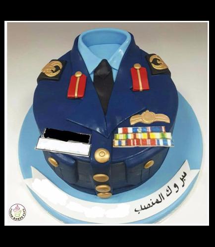 Cake - Abu Dhabi Police Uniform 01