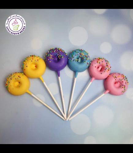 Colorful Donut Pops - Pastel 02