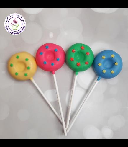 Stars Themed Donut Pops