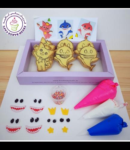 Baby Shark Themed Kit - Vanilla