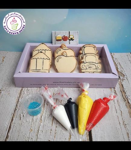 Cookies - Back to School - Cookie Decorating Kit