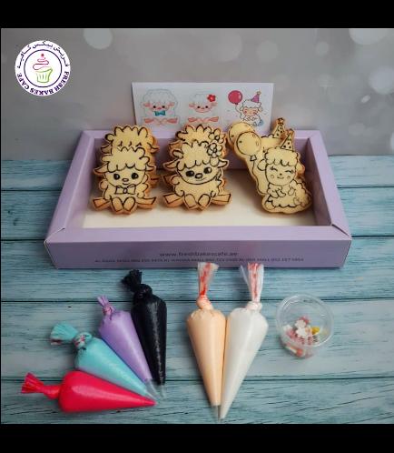 Cookies - Sheep - Decorating Kit