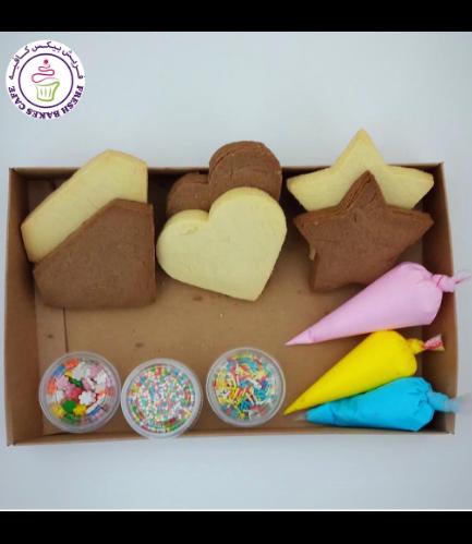 Heart, Star, & Diamond Themed Kit - Choco/Vanilla