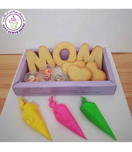 Cookie Decorating Kit - Mom - English - Vanilla