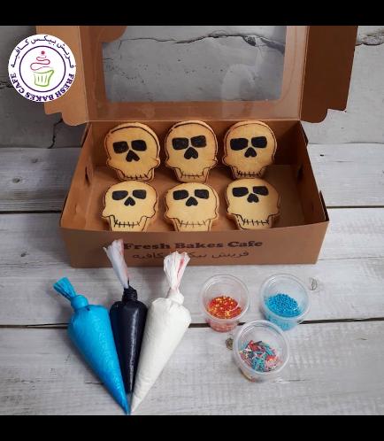 Halloween Themed Kit 03 - Skulls - Vanilla