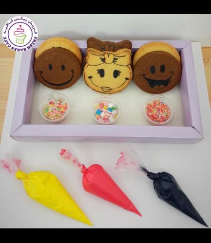 Smiley Themed Kit - Choco/Vanilla