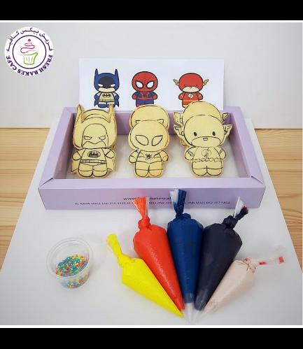 Superheroes Themed Kit - Vanilla