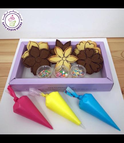 Flowers Themed Kit - Choco/Vanilla