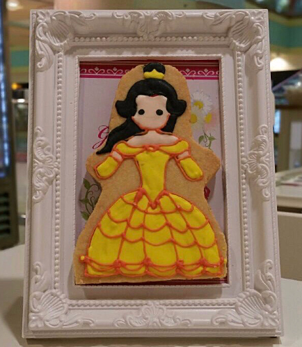 Beauty & the Beast Themed Cookie in a Frame
