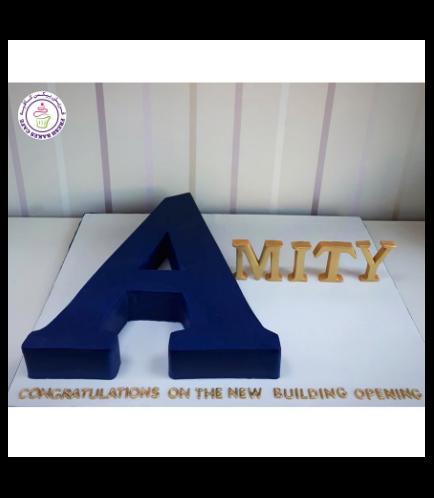 Cake - Letter - 3D Cake