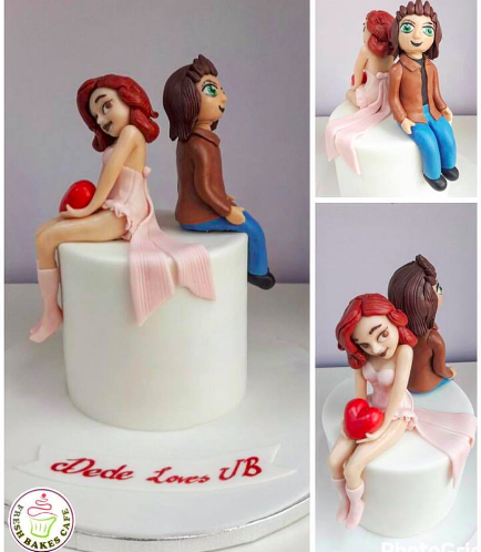 Love Themed Cake 03