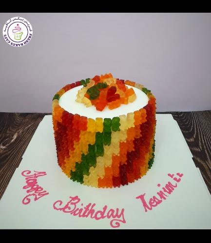 Gummy Bears Themed Cake