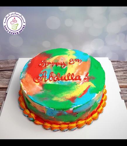 Cake - Blended Colors 03