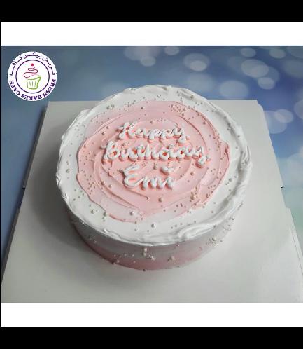 Cake - Color Swirl - Pink
