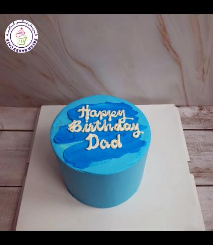 Cake - Color Stroke - Blue 02