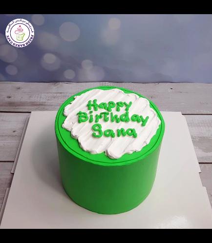 Cake - Color Stroke - Green