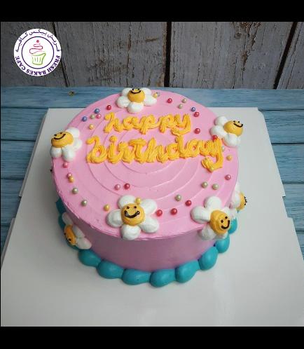 Cake - Flowers 01b