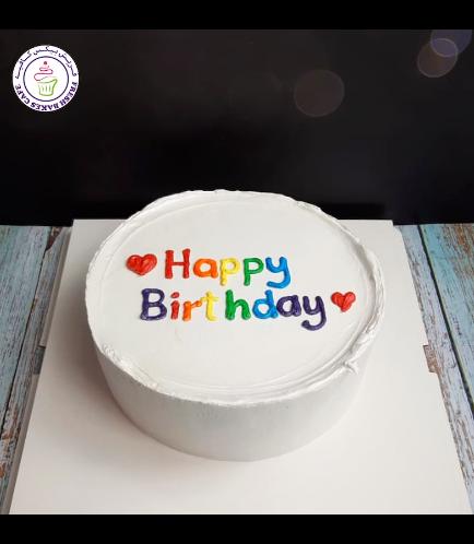 Cake - Heart Piping 05