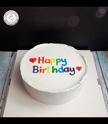 Cake - Heart - Piping 07