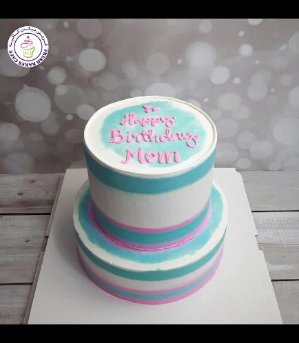 Cake - Shaded - 2 Tier