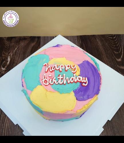 Cake - Color Swirls 01 - 8