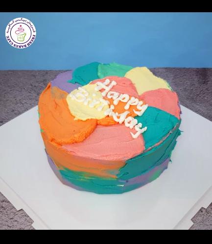 Cake - Color Swirls 02