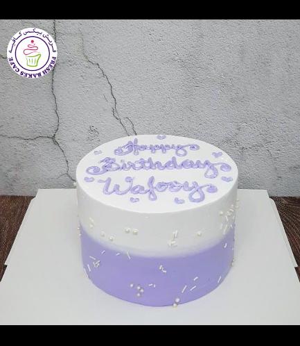 Cake - Ombre - Purple