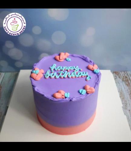 Cake - Heart Piping 01