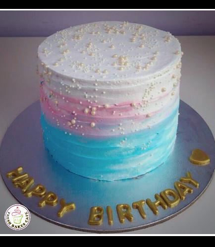 Cream Ombre Cake 01a
