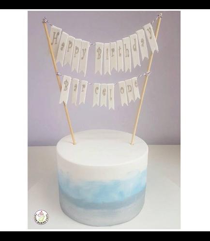 Fondant Ombre Cake 07a