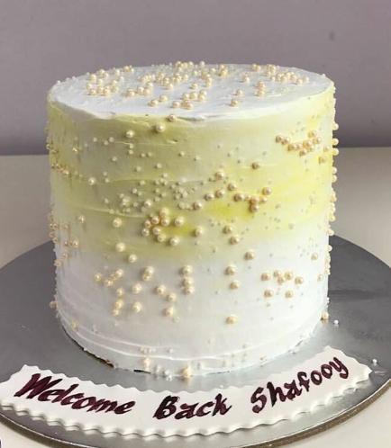Cream Ombre Cake 04