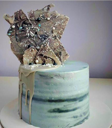 Cream Ombre Cake 05a