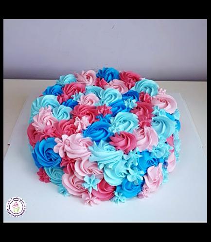Cake - Blue & Pink - Mixed