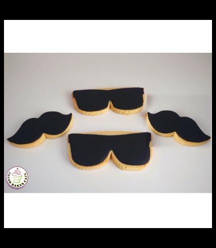 Cookies - Mustache & Sunglasses