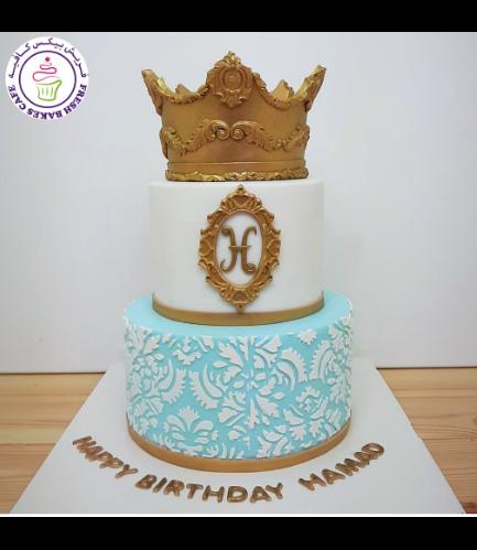 Cake - Stencil - 2 Tier