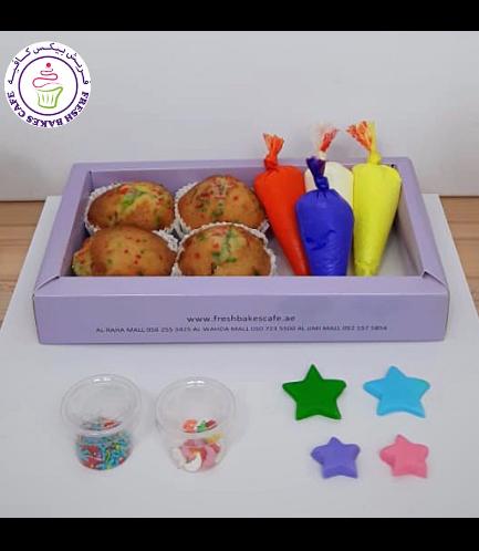 Cupcakes - Stars - Decorating Kit