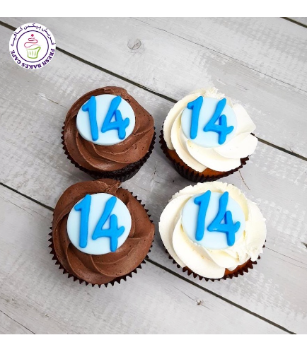 Cupcakes with Numbers 03