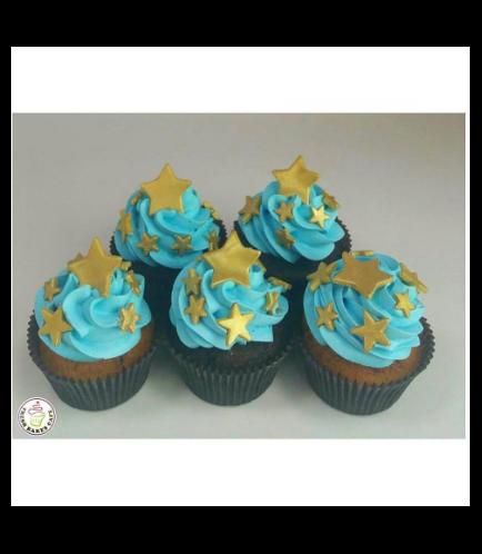 Cupcakes - Stars 01