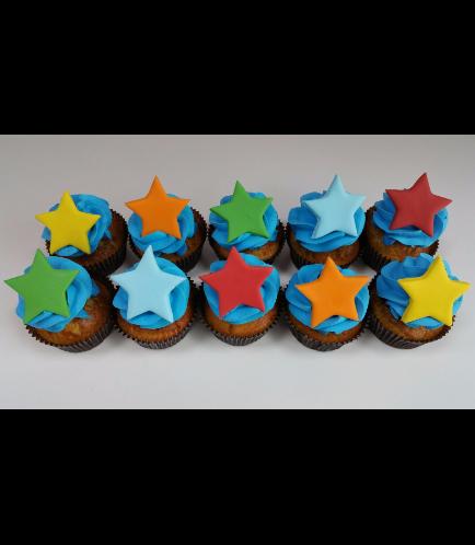 Cupcakes - Stars 02