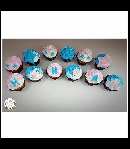 Cupcakes - Stars 04