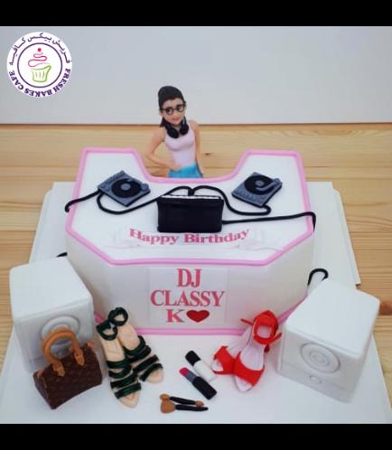 DJ Themed Cake 01