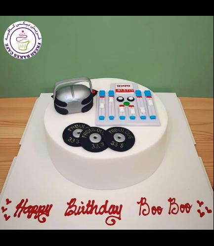 DJ Themed Cake 02