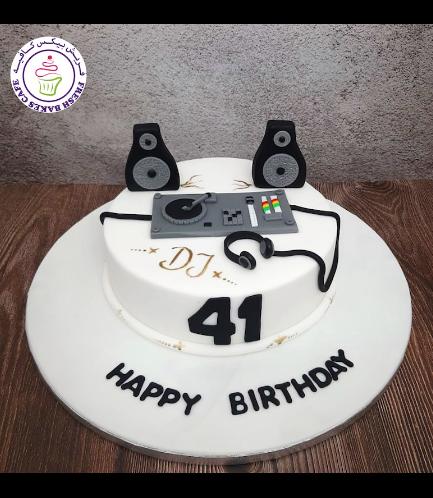 DJ Themed Cake 03