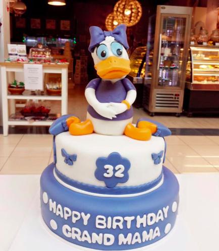 Daisy Themed Cake 01