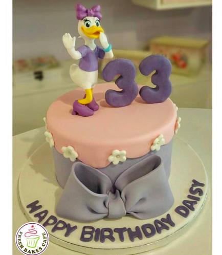 Daisy Themed Cake 02