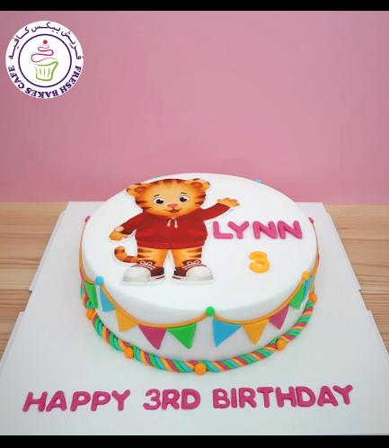 Daniel Tiger Themed Cake 01