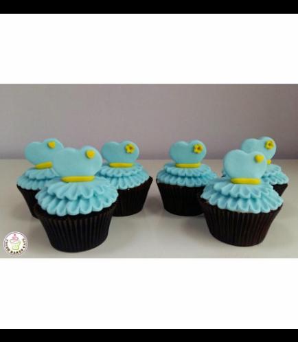 Dress Themed Cupcakes 03