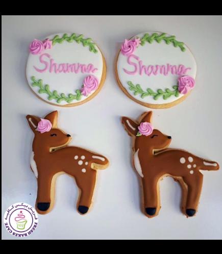 Deer Themed Cookies - Bambi