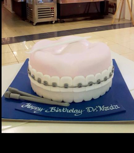 Dentist Themed Cake 1