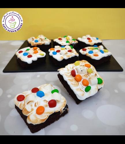 M&M & Marshmallow Brownies